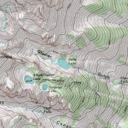 Delta Lake Teton County Wyoming Lake Grand Teton USGS