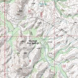 Map Of Arizona Hot Springs.Hookers Hot Springs Cochise County Arizona Populated Place