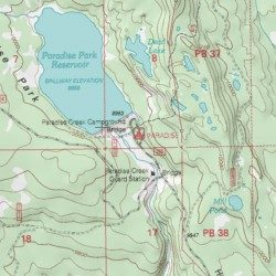 Paradise Utah Map.Paradise Campground Uintah County Utah Locale Paradise Park Usgs