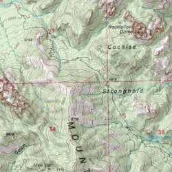 Cochise Stronghold, Cochise County, Arizona, Area [Cochise