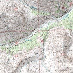 Kirwin Wyoming Map.Kirwin District Mine Hot Springs County Wyoming Mine Dunrud Peak