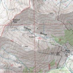 Kirwin Wyoming Map.Kirwin Copper Mine Park County Wyoming Mine Francs Peak Usgs
