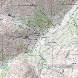 Kirwin Wyoming Map.Kirwin Park County Wyoming Populated Place Francs Peak Usgs