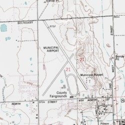 Map Of Saint Johns Arizona.St Johns Industrial Air Park Apache County Arizona Airport Zion