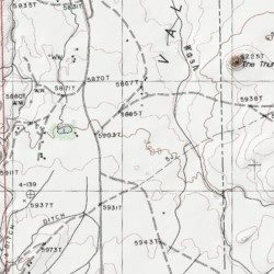 Apache County Arizona Map.Red Rock Valley Apache County Arizona Basin Red Valley Usgs