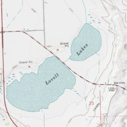Lovell Lakes Big Horn County Wyoming Lake Lovell Lakes Usgs