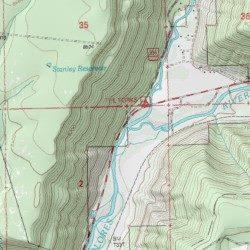 Dolores River Colorado Map.West Dolores River Dolores County Colorado Stream Stoner Usgs
