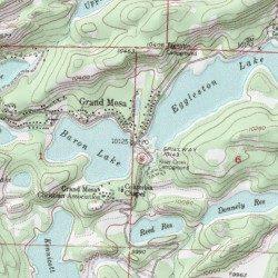 Grand Mesa Delta County Colorado Populated Place Grand Mesa Usgs