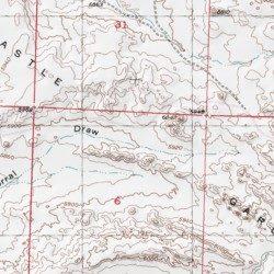 Castle Gardens Fremont County Wyoming Range Love Ranch Usgs