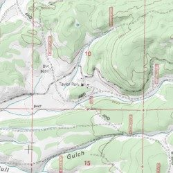Taylor Park Colorado Map.Taylor Park Ranger Station Gunnison County Colorado Locale