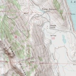 Jackson County Colorado Map.Fred Brands Ranch Mine Jackson County Colorado Mine Lake John