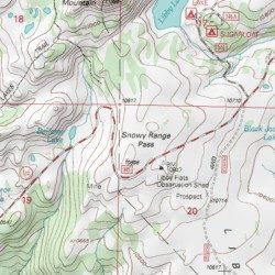Snowy Range Wyoming Map.Snowy Range Pass Albany County Wyoming Gap Medicine Bow Peak