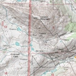 Topographic Map London.South London Mine Park County Colorado Mine Climax Usgs