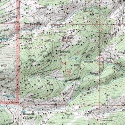 Gettysburg Topographic Map.Gettysburg Mine Gilpin County Colorado Mine Central City Usgs