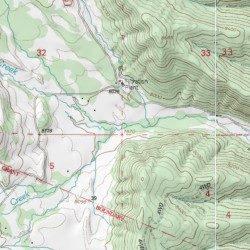 Whiskey Creek Costilla County Colorado Stream Stonewall Usgs