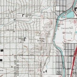 Ruby Hill Denver County Colorado Summit Fort Logan Usgs
