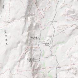 Gettysburg Topographic Map.Coal Mine Ranch Presidio County Texas Locale Gettysburg Peak