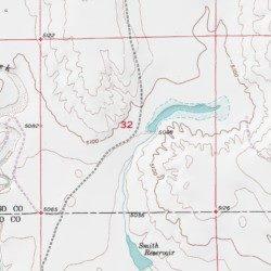 Curiton Reservoir El Paso County Colorado Reservoir Hanover Usgs