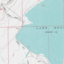 Lake Henry Anticline Pit Crowley County Colorado Mine Lake Henry - Crowley lake map