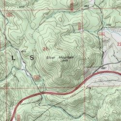 Silver Mountain Pennington County South Dakota Summit Mount