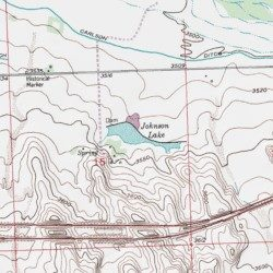 Johnson Lake Sedgwick County Colorado Reservoir Julesburg USGS - Johnson lake map