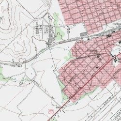 Uco Park Val Verde County Texas Park Del Rio Sw Usgs Topographic