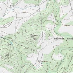Hill Topographic Map.Bunker Hill San Saba County Texas Summit Indian Hills Usgs