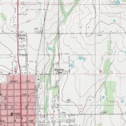 Marlow Cemetery Stephens County Oklahoma Cemetery Marlow Usgs