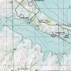 Milford Lake Kansas Map.Milford Lake Geary County Kansas Reservoir Milford Dam Usgs