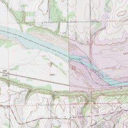 Kaw Lake Kay County Oklahoma Reservoir Uncas Usgs Topographic