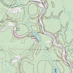 Carters Lake, Montgomery County, Texas, Lake [Tamina USGS ... on