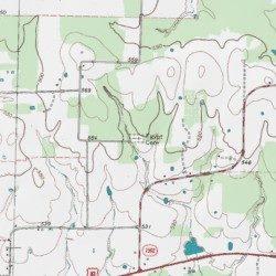 Egypt Cemetery Lamar County Texas Cemetery Detroit USGS - Map of egypt texas