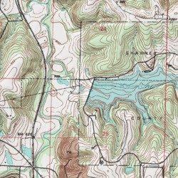 Johnson County Dam, Johnson County, Kansas, Dam [Olathe USGS