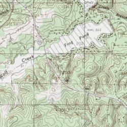 Egypt Cemetery Tyler County Texas Cemetery Colmesneil USGS - Map of egypt elevation