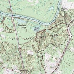 Caddo Lake State Park Trail, Harrison County, Texas, Trail [Karnack on