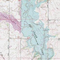 Big Creek Lake Polk County Iowa Lake Polk City Usgs Topographic