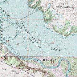 Polk City Iowa Map.Saylorville Lake Polk County Iowa Reservoir Polk City Usgs