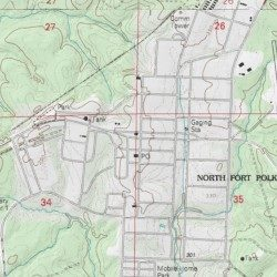 North Fort Polk Vernon County Louisiana Populated Place Fort