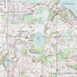 Shields Lake Washington County Minnesota Lake Forest Lake USGS
