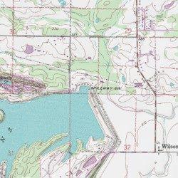 Lake Atkins Dam Pope County Arkansas Dam Atkins Usgs Topographic