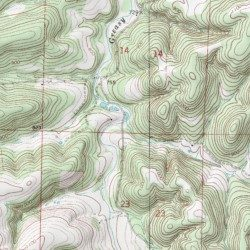 Ozark Mountains Topographic Map.Ozark Mountain Spring Marion County Arkansas Spring Bruno Usgs