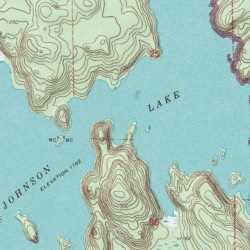 Johnson Lake St Louis County Minnesota Lake Johnson Lake USGS - Johnson lake map