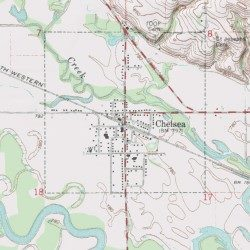 Chelsea, Tama County, Iowa, Populated Place [Chelsea USGS