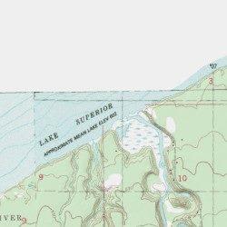 Bois Brule River Douglas County Wisconsin Stream Oulu Usgs