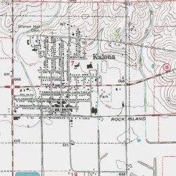 Washington County Iowa Map.Kalona Historical Village Washington County Iowa Locale Kalona