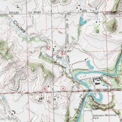 Gill Coulee La Crosse County Wisconsin Valley West Salem Usgs