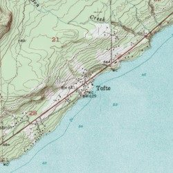 Superior Hiking Trail Cook County Minnesota Trail Tofte USGS - Where to get topo maps for hiking