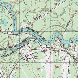 Map Of Louisiana Bayou.Bayou Manchac East Baton Rouge County Louisiana Stream