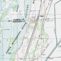 Thomson Illinois Map.Thomson Fulton Sand Prairie Nature Preserve Whiteside County