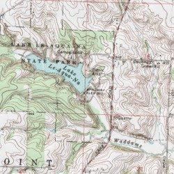 Lake Le Aqua Na Stephenson County Illinois Reservoir Lena Usgs